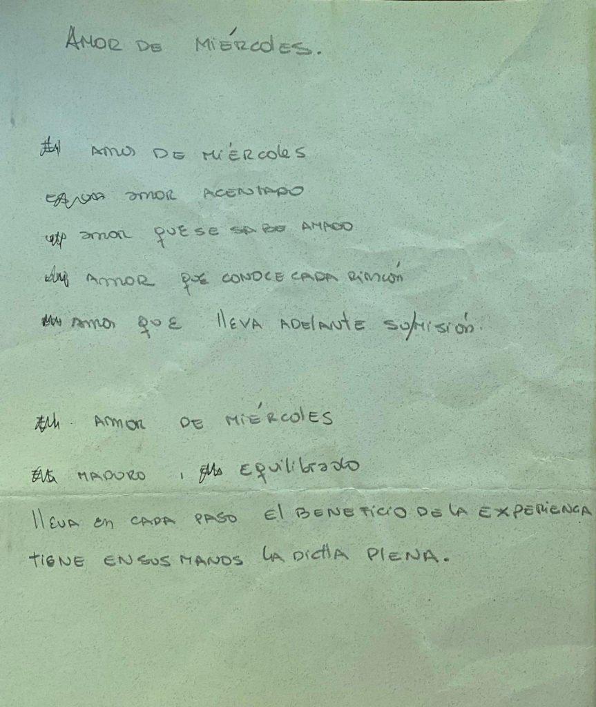 Amor de Miércoles - @cristiaimaretti